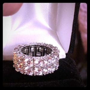 Jewelry - 🆕🆕🆕Eternity Band STUNNING 925 Sterling Silver